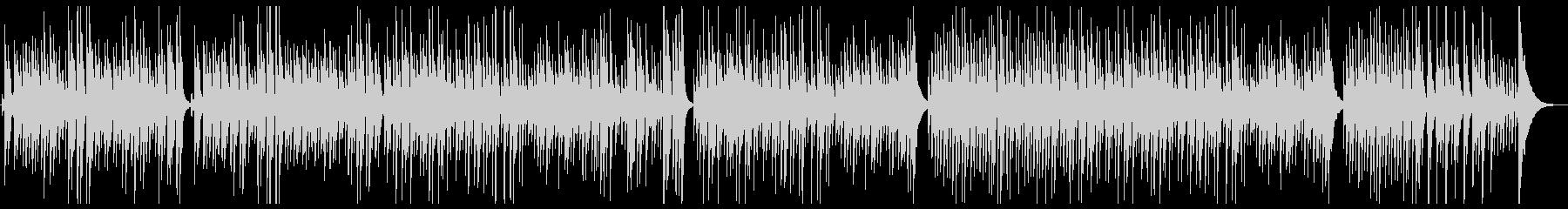「椿姫 乾杯の歌」ウクレレカバーの未再生の波形