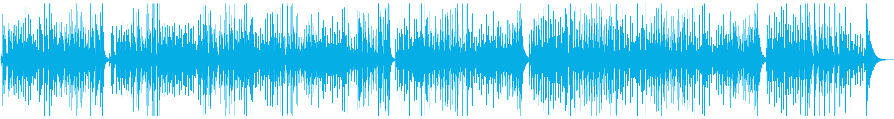 「椿姫 乾杯の歌」ウクレレカバーの再生済みの波形
