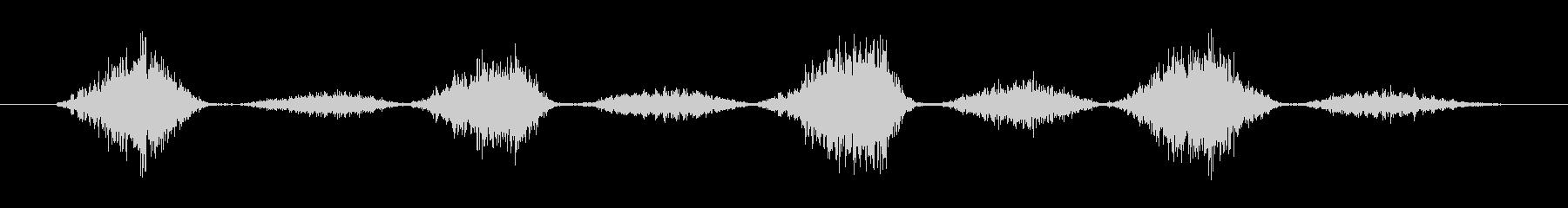 擬音 ハンドソーウッドステディ01の未再生の波形