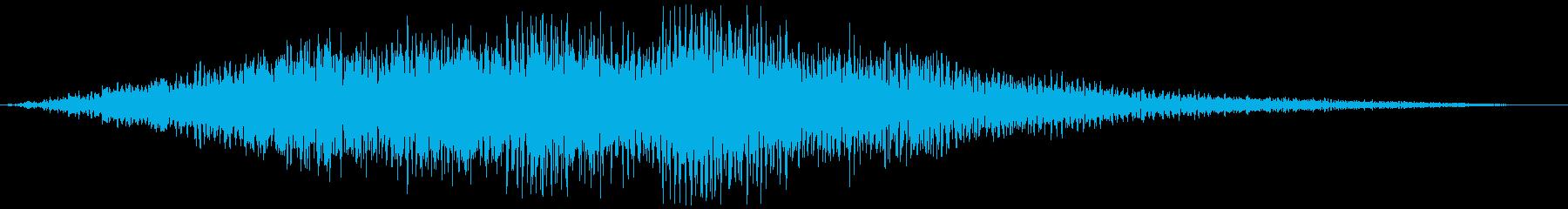 コンピュータの電子音、効果音_02の再生済みの波形