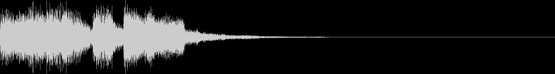 ファンファーレ アイテム レベルアップBの未再生の波形