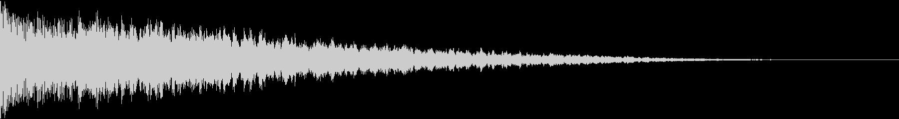 ドンとバン:都市伝説などのテロップ時2の未再生の波形