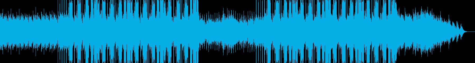 悲劇的なヒップホップビートの再生済みの波形