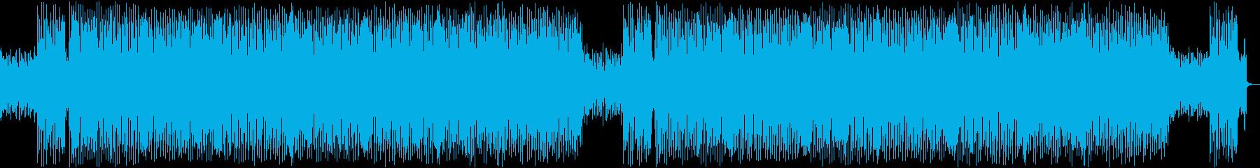 可愛い・配信・VTuber・お洒落の再生済みの波形
