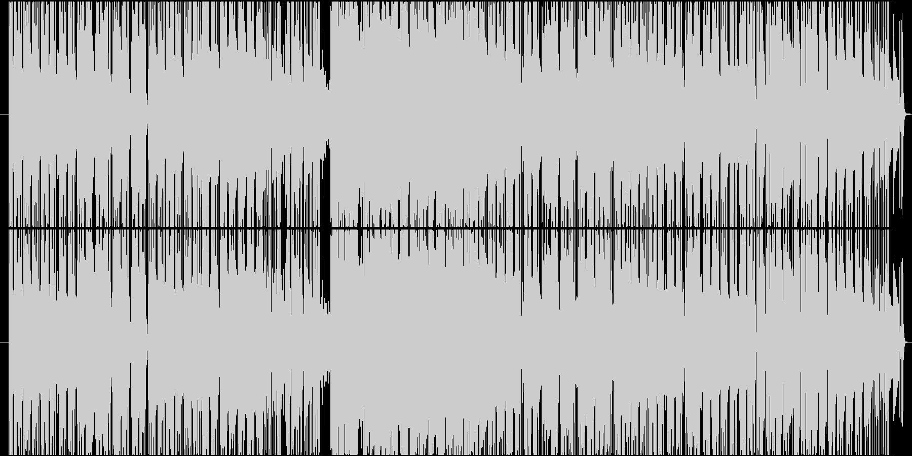 お洒落でムードのあるスムースジャズ系の未再生の波形