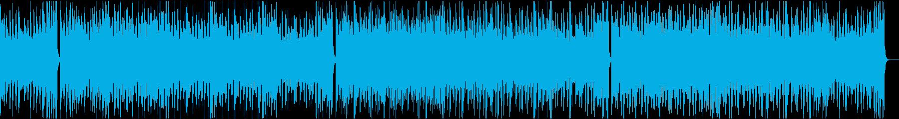 13秒でサビ、電子音ダーク/静かめの再生済みの波形