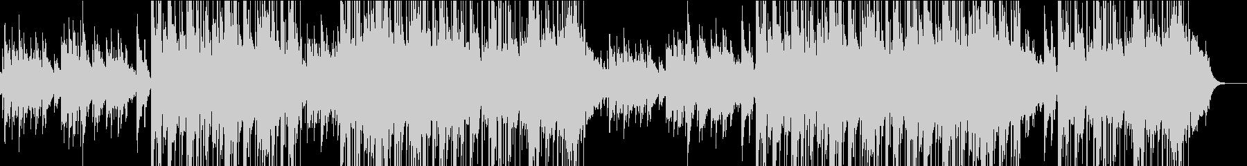 切ない雰囲気のアコギバラードの未再生の波形