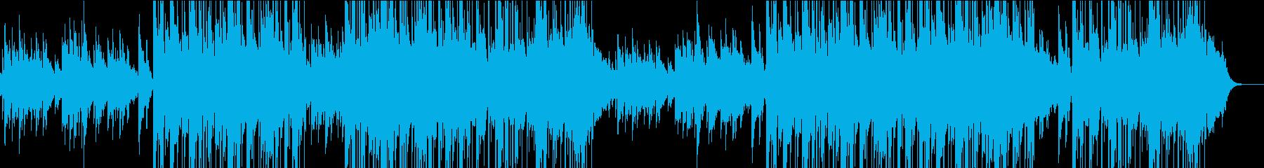 切ない雰囲気のアコギバラードの再生済みの波形