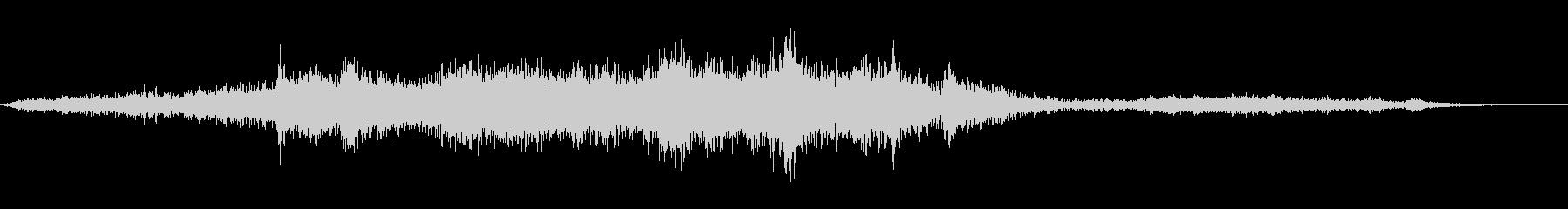 ジンバルのガラガラと揺れの未再生の波形