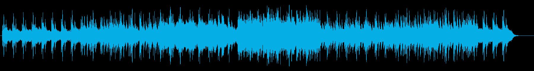 神秘的で宇宙感のあるシンセピアノサウンドの再生済みの波形
