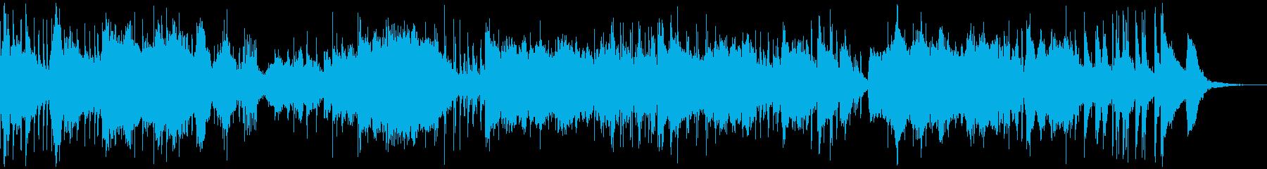 不可解な雰囲気シンセサイザーアンビエントの再生済みの波形