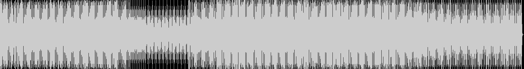 暗いダークなミニマルハウスの未再生の波形