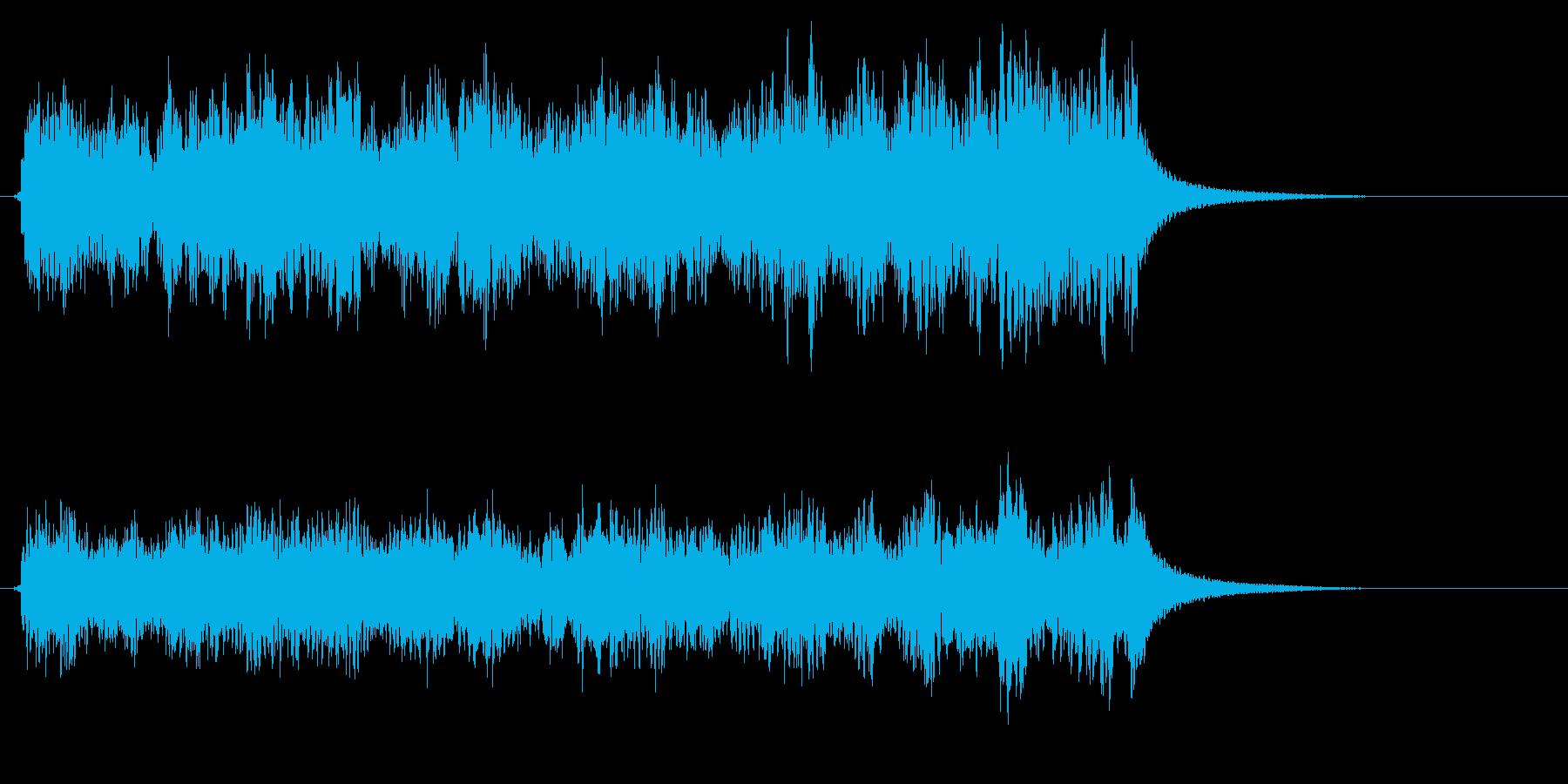 時計 アラーム04-04(弱 遠い)の再生済みの波形
