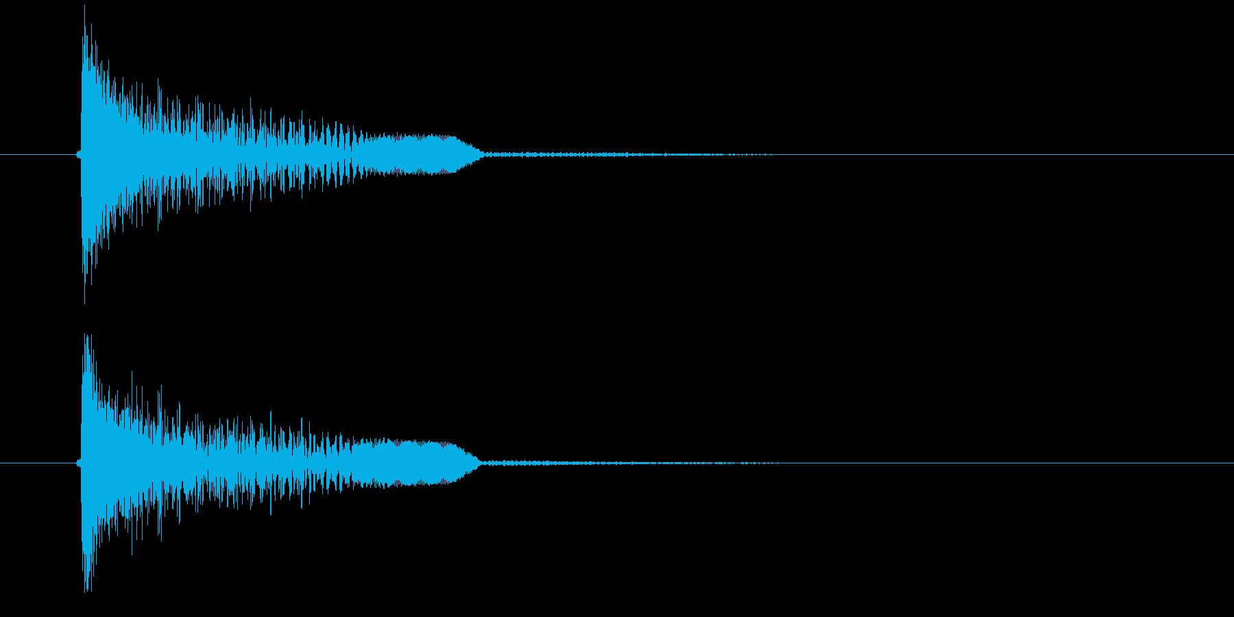ドゥオーン(金属音)の再生済みの波形