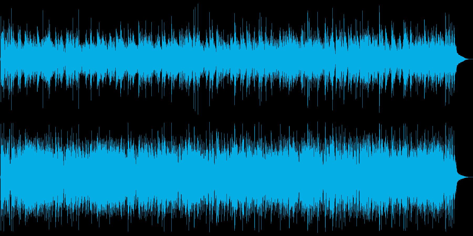 G線上のアリア) ボサノバアレンジの再生済みの波形