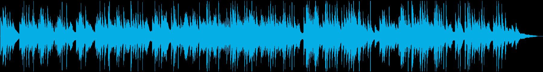 アルバム・思い出・レトロ 優しいピアノの再生済みの波形