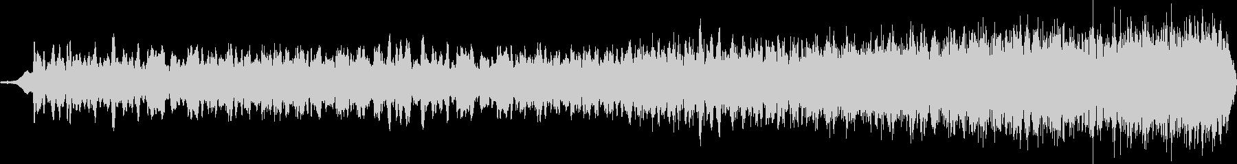 暗闇でのスペイシーな音 ロングバージョンの未再生の波形