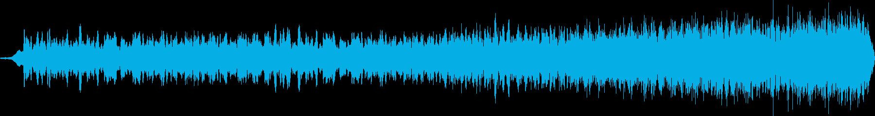 暗闇でのスペイシーな音 ロングバージョンの再生済みの波形