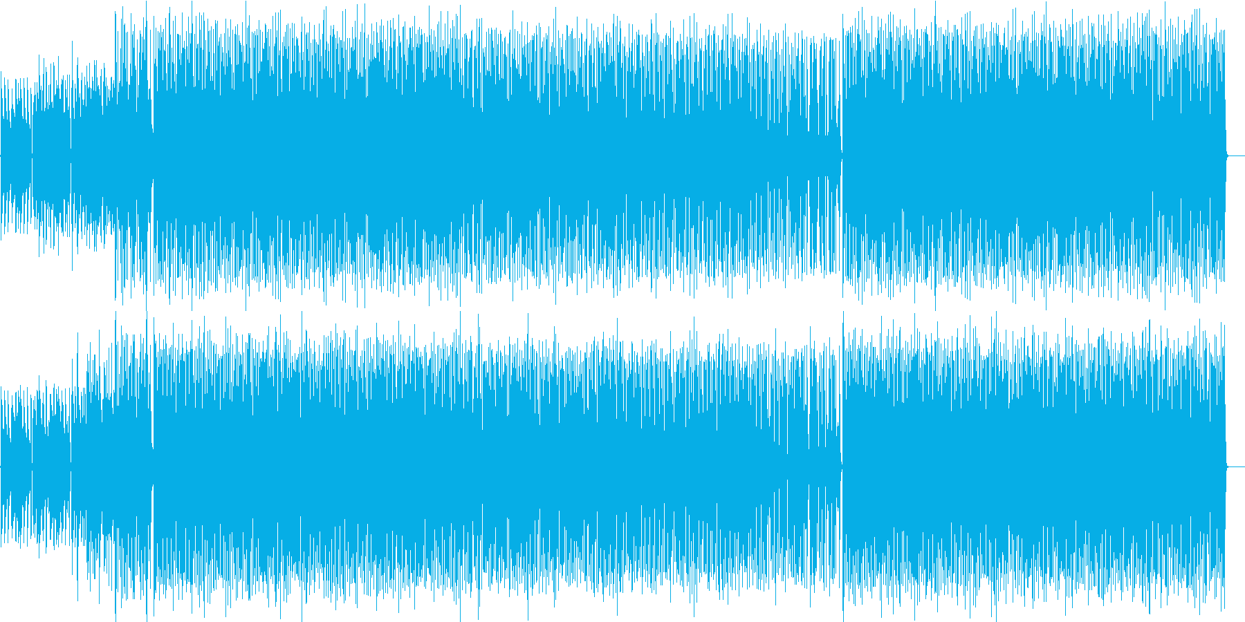 Jazzyでファンキーなインストの再生済みの波形