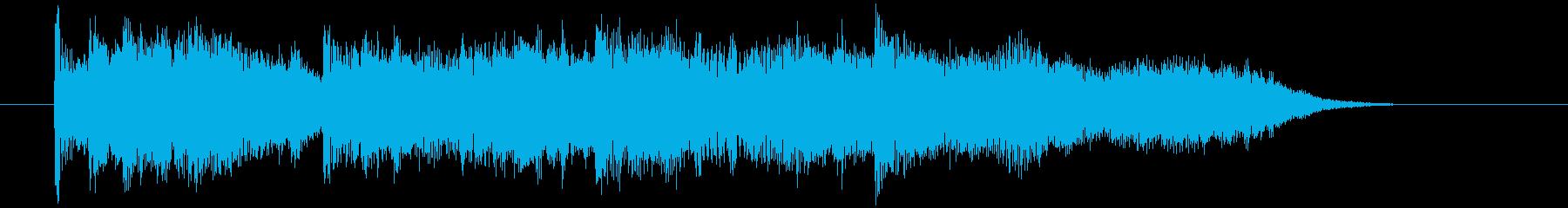 デジタルが奏でるほのぼの演歌の再生済みの波形