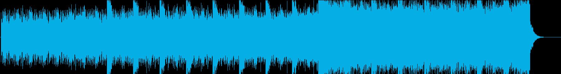 神秘的なアンビエント・ピアノの再生済みの波形