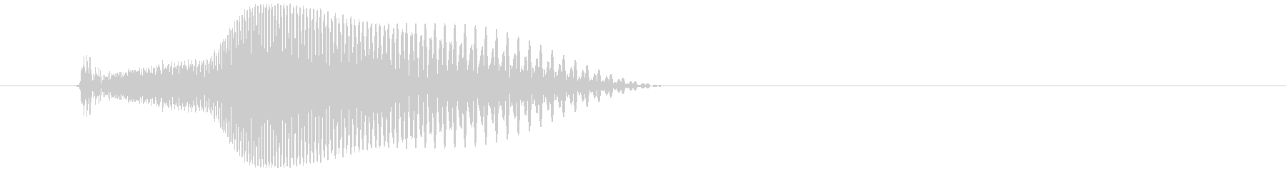 シューティングゲーム_弾_発射音1の未再生の波形