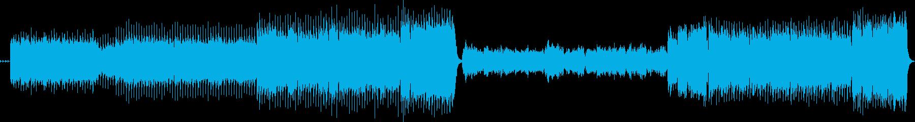 大河ドラマのオープニング風中間しっとりの再生済みの波形