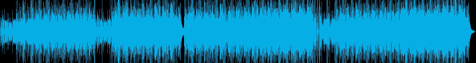 【生音アコギ】癒し・カフェ・文学的BGMの再生済みの波形