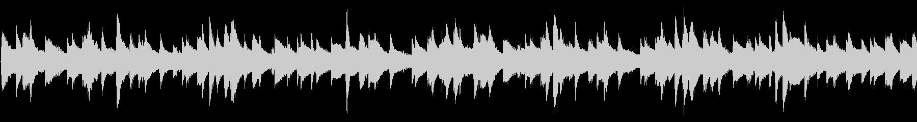 Lo-fi HipHop ループの未再生の波形