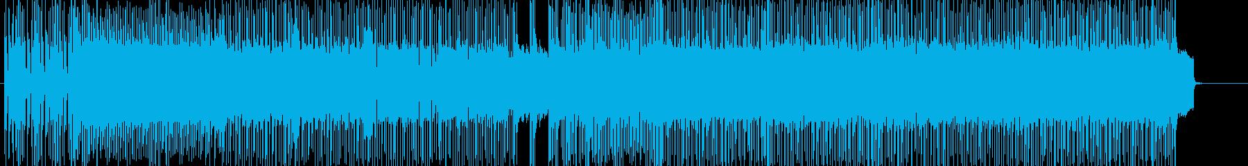 ハードロック、ダーク、パワー BGM42の再生済みの波形