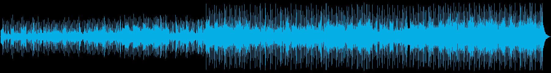フィドル、マンドリン、ピアノ、ギタ...の再生済みの波形