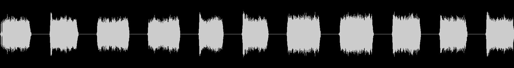 レーザー溶接:低、11バースト、S...の未再生の波形