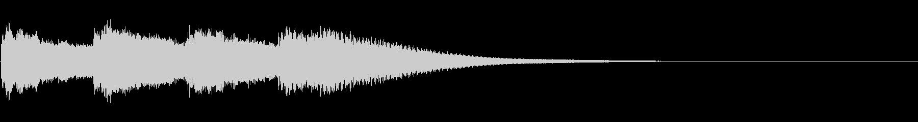 キンコンカンコン/学校のチャイムの未再生の波形
