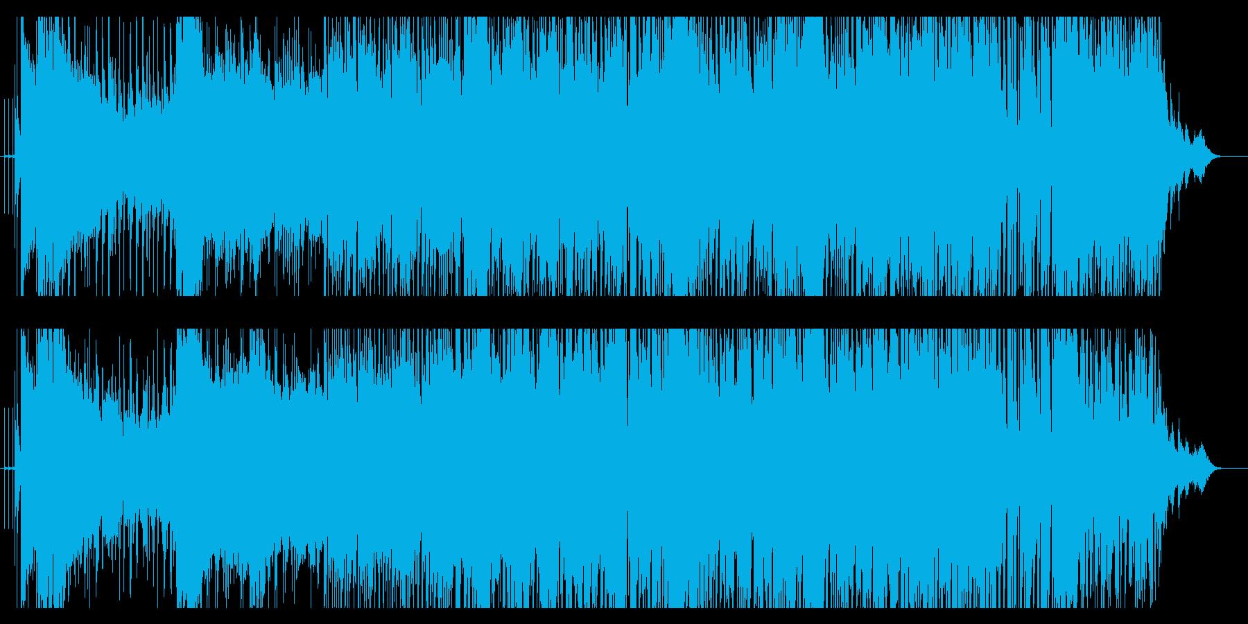 電波系の明るいPopsの再生済みの波形