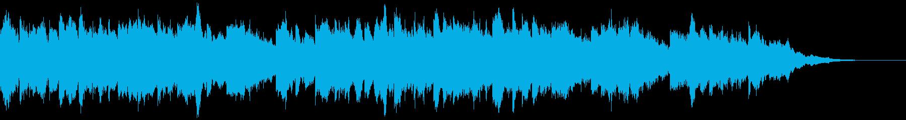 暖かいベルの音が印象に残る挿入歌の再生済みの波形