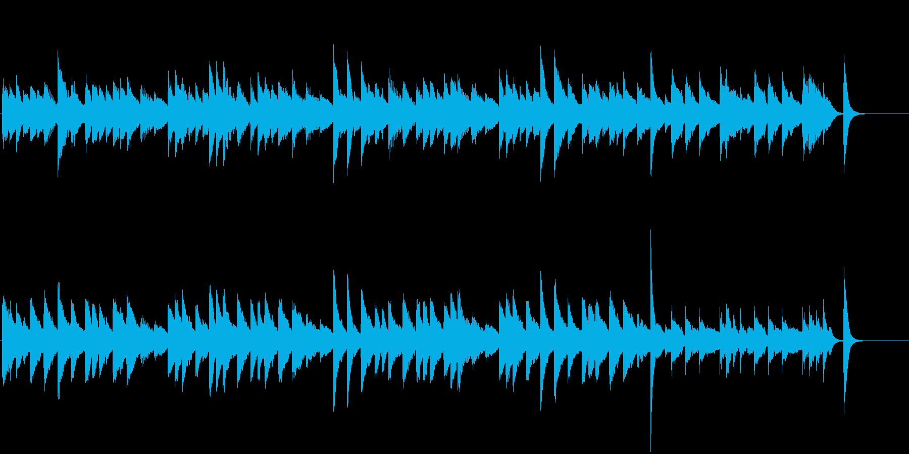 やんちゃ♪童謡・こいのぼりピアノジングルの再生済みの波形