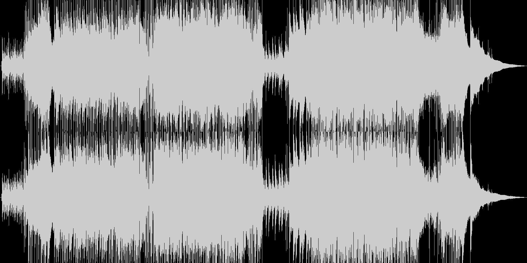 アコギとピアノの爽やか5拍子ポップスの未再生の波形