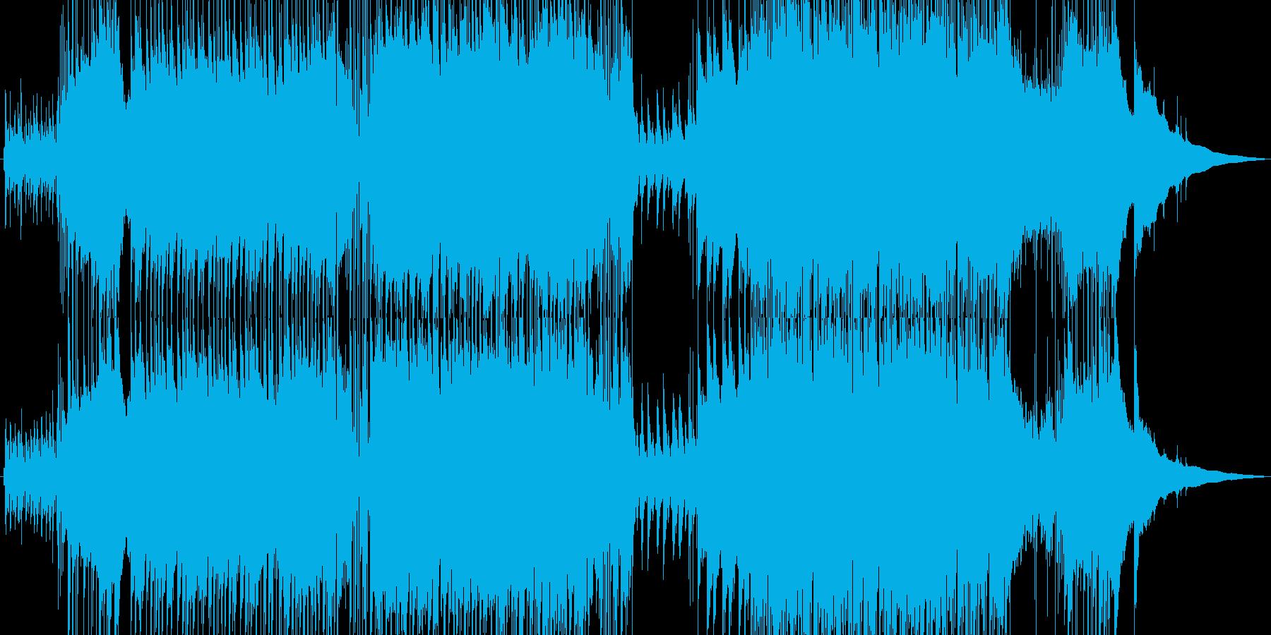 アコギとピアノの爽やか5拍子ポップスの再生済みの波形