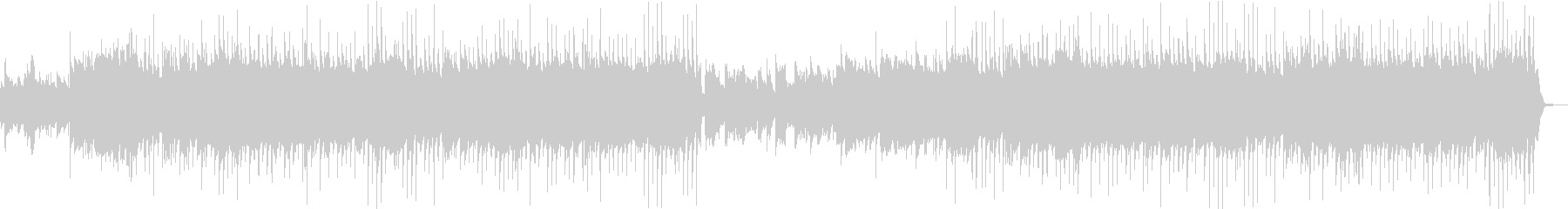 和楽器・口笛・ほのぼのした和風カントリーの未再生の波形