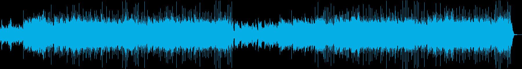 和楽器・口笛・ほのぼのした和風カントリーの再生済みの波形