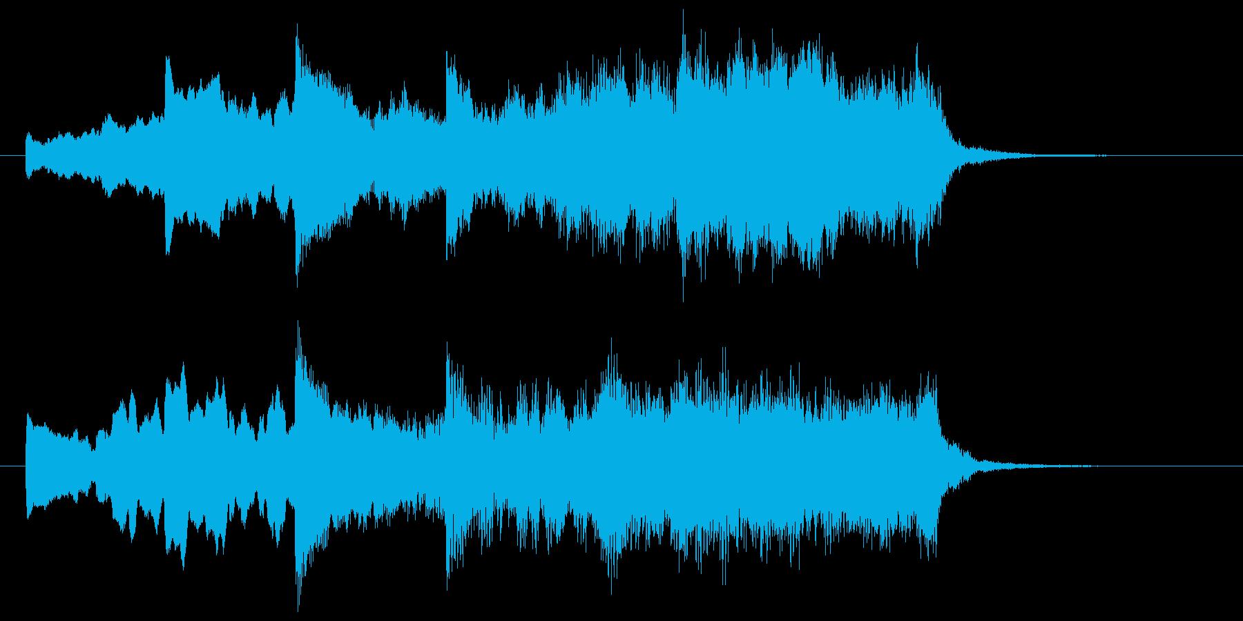 不穏な空気の場面転換などの再生済みの波形
