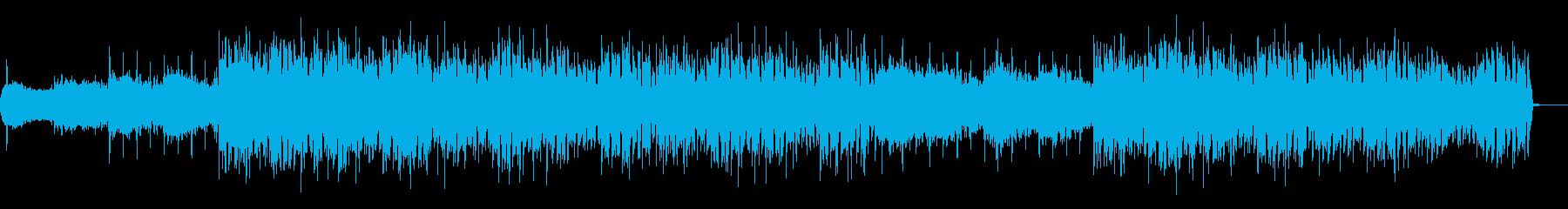 不気味なボイスのトリップホップの再生済みの波形
