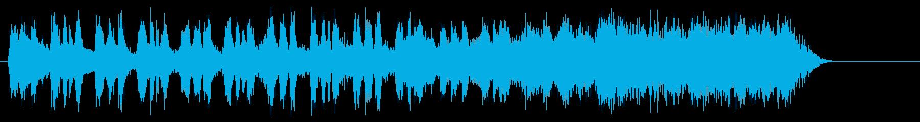 大きな兆候の再生済みの波形