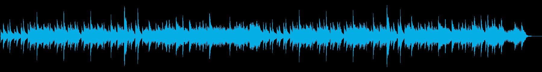 ジムノペディ第1番(オーケストラ版)の再生済みの波形