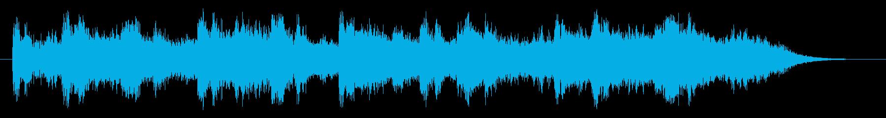 嵐の海(ロングバージョン)の再生済みの波形