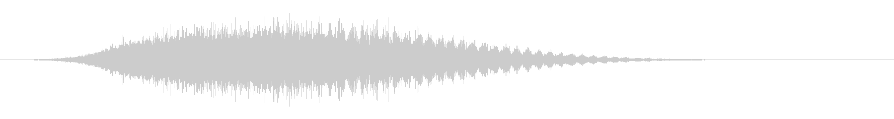 軽金属線ビーム分散の未再生の波形