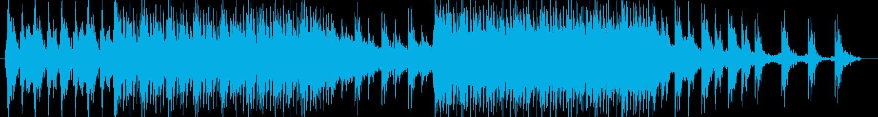 暗めのゲーム用BGMの再生済みの波形