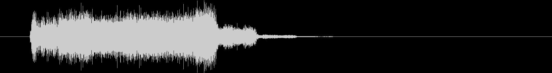 タイトルロゴ|デジタル Bの未再生の波形