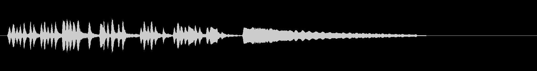 テーマ3B:フルートの未再生の波形