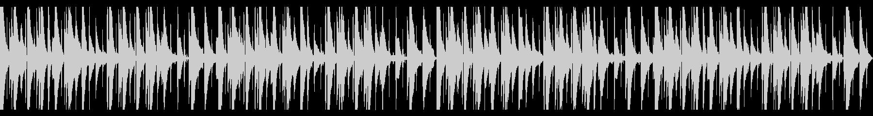 ピアノLofi Hiphopの未再生の波形